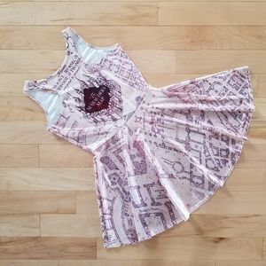 Dresses & Skirts - Harry Potter themed skater dress size S 💖